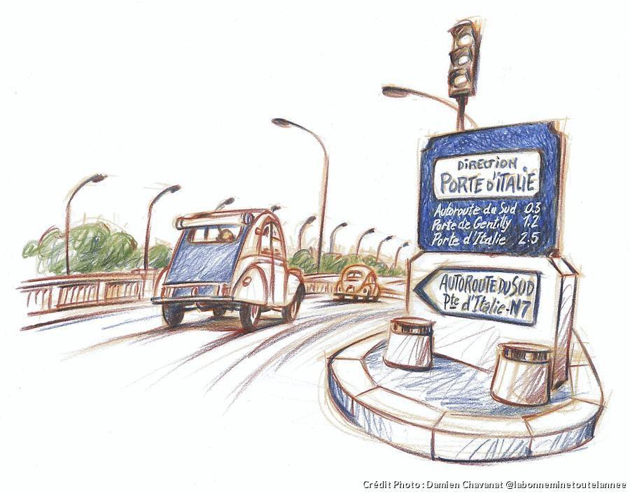 Itinéraire route nationale 7
