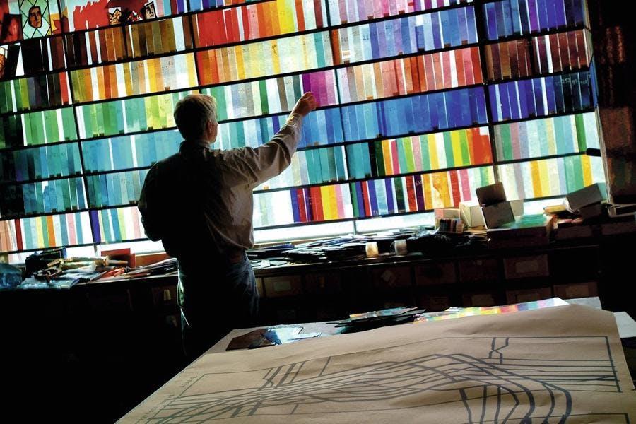 la gamme de couleur des ateliers Loire