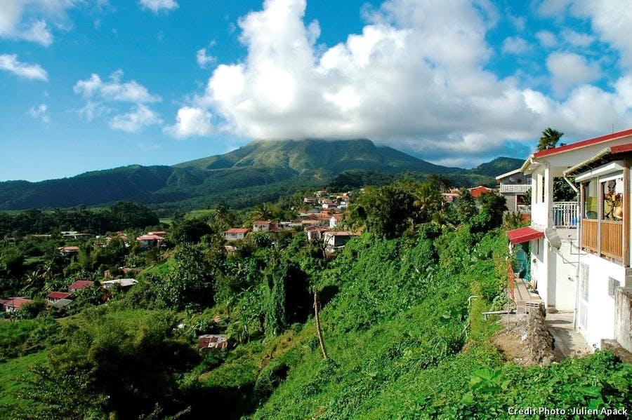La montagne pelée en Martinique