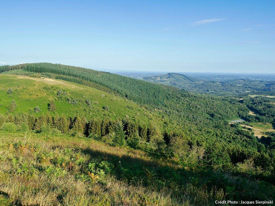 Suc au May, massif des Monédières (Limousin)