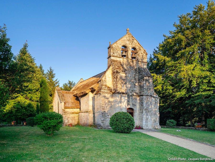 L'église Saint-Martial de Lestards, dans le massif des Monédières