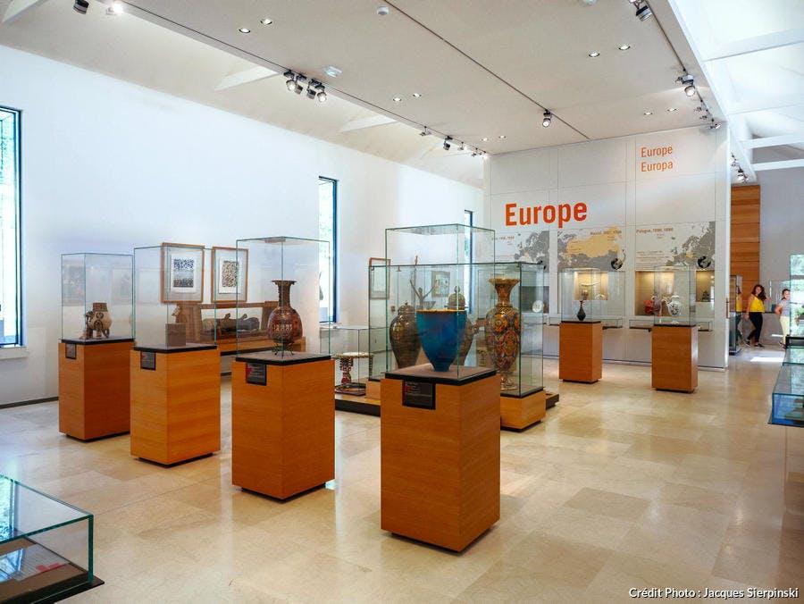 Musée du Président Jacques Chirac de Sarran, en Corrèze (Limousin)