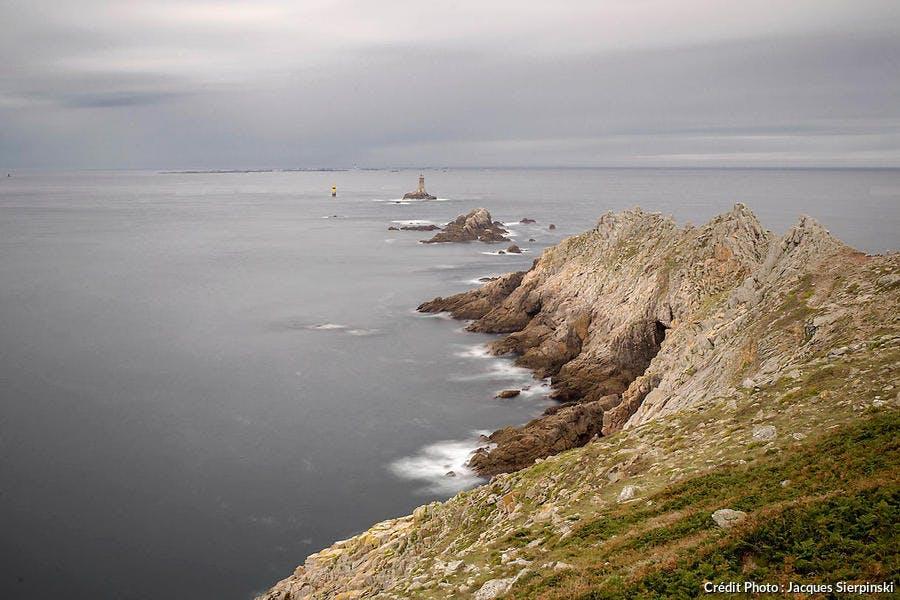 La pointe du Raz, dans le Finistère (Bretagne)