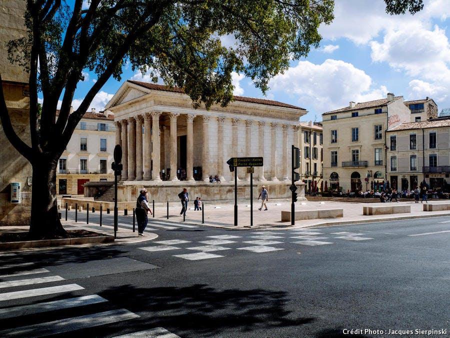 La Maison Carrée, à Nîmes