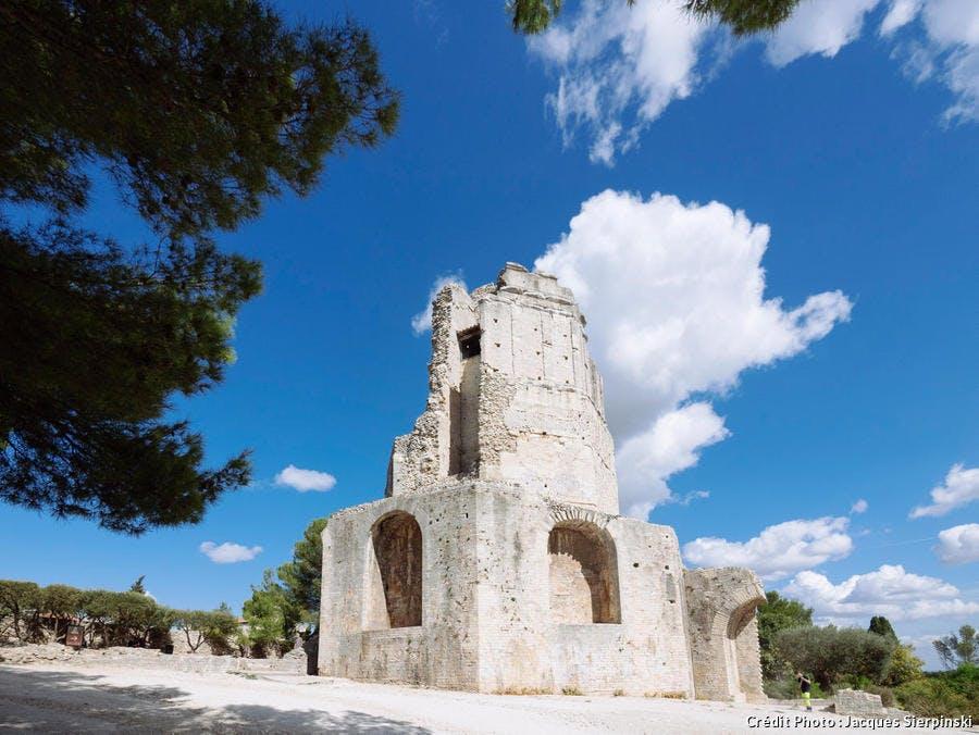 La tour Magne, à Nîmes