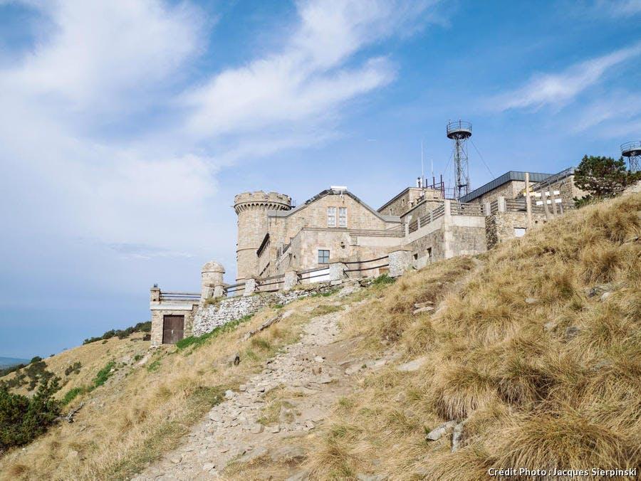 L'observatoire météorologique du Mont Aigoual