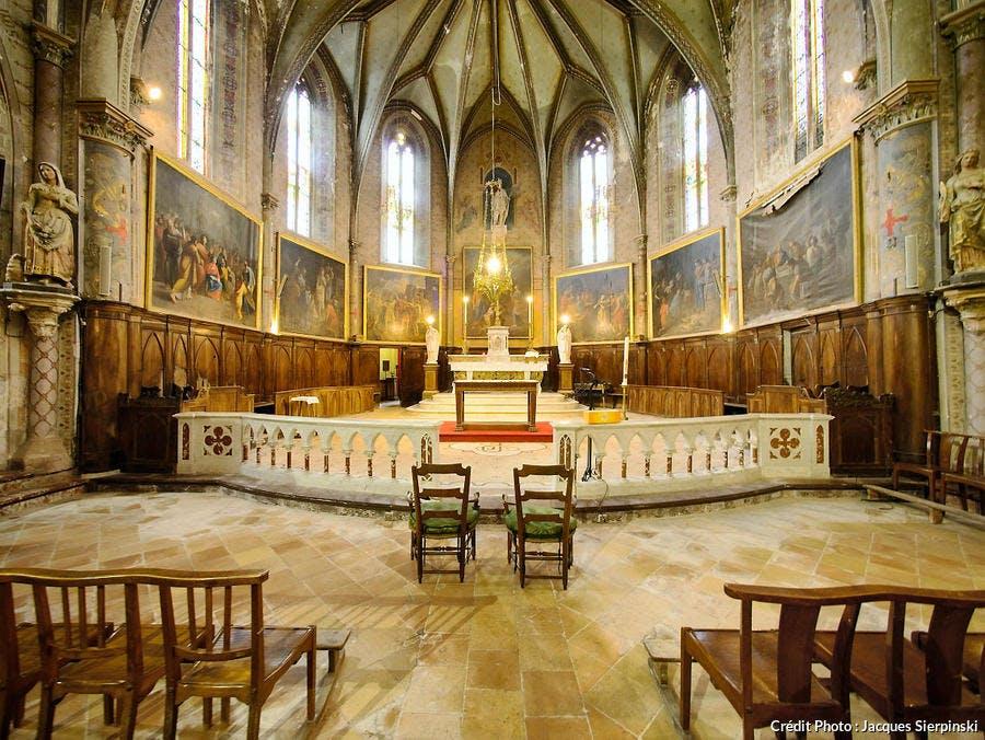 Église Sainte-Agathe-et-Saint-Julien à Saint-Julia de Gras-Capou, dans le Lauragais (Haute-Garonne)