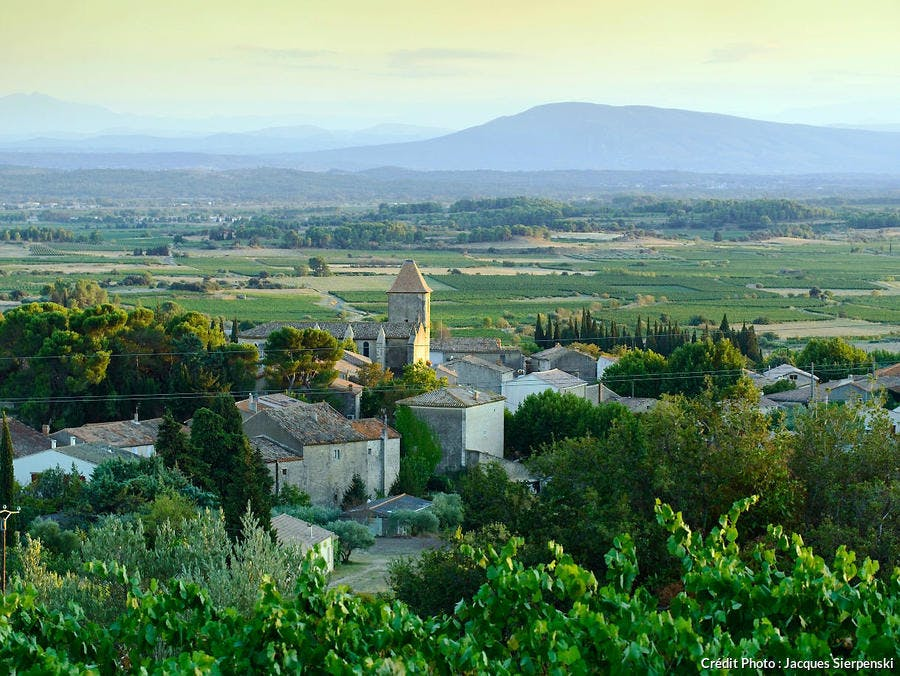 Le village d'Azillanet