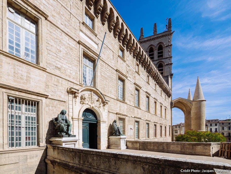 Montpellier, faculté de Médecine et cathédrale Saint-Pierre