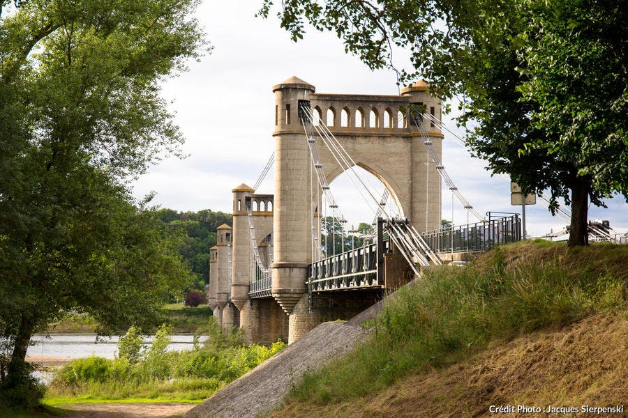 Le pont suspendu de Langeais