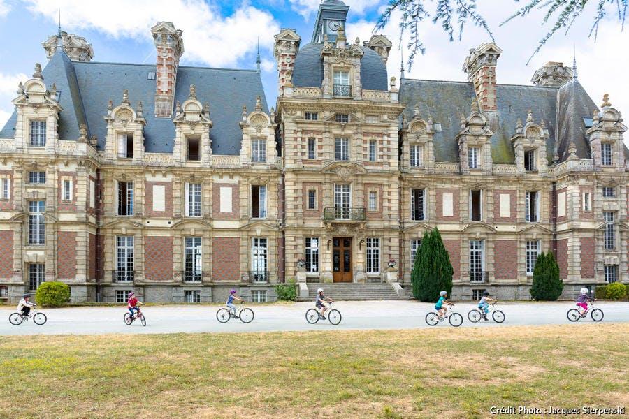 Le château de Turmelière à Liré