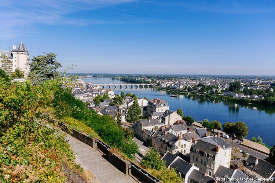 Le pont vouté Cessart de Saumur
