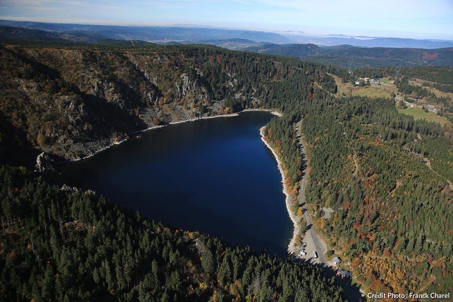 La lac Blanc dans les Vosges