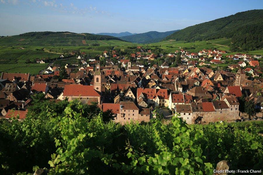 La cité médiévale de Riquewihr, en Alsace