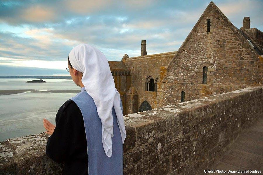 Mont-Saint-Michel, vue sur la baie