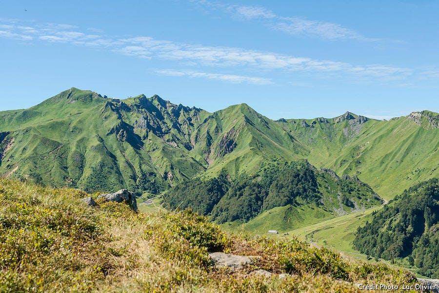 Le massif du Sancy, en Auvergne