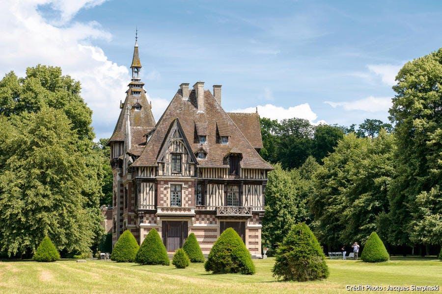 Le manoir de Villers, à Saint-Pierre-de-Manneville (Normandie)
