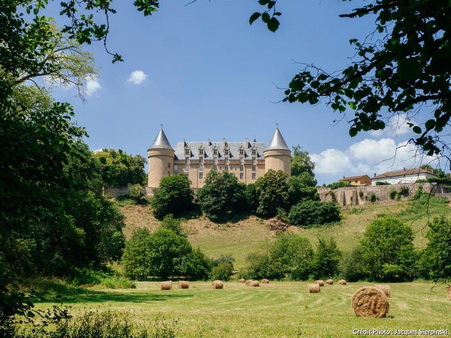 Le château de Rochechouart en Haute-Vienne