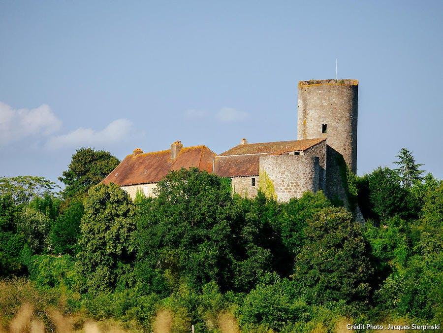 Le château de Châlus-Chabrol
