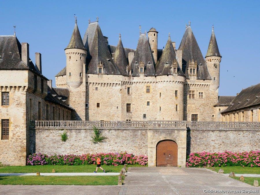 Le château de Jumilhac en Dordogne