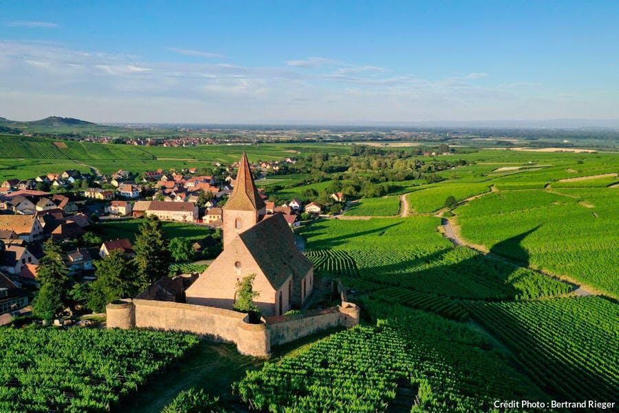 Route des vins d'Alsace, Hunawihr, labellisé Les Plus Beaux Villages de France