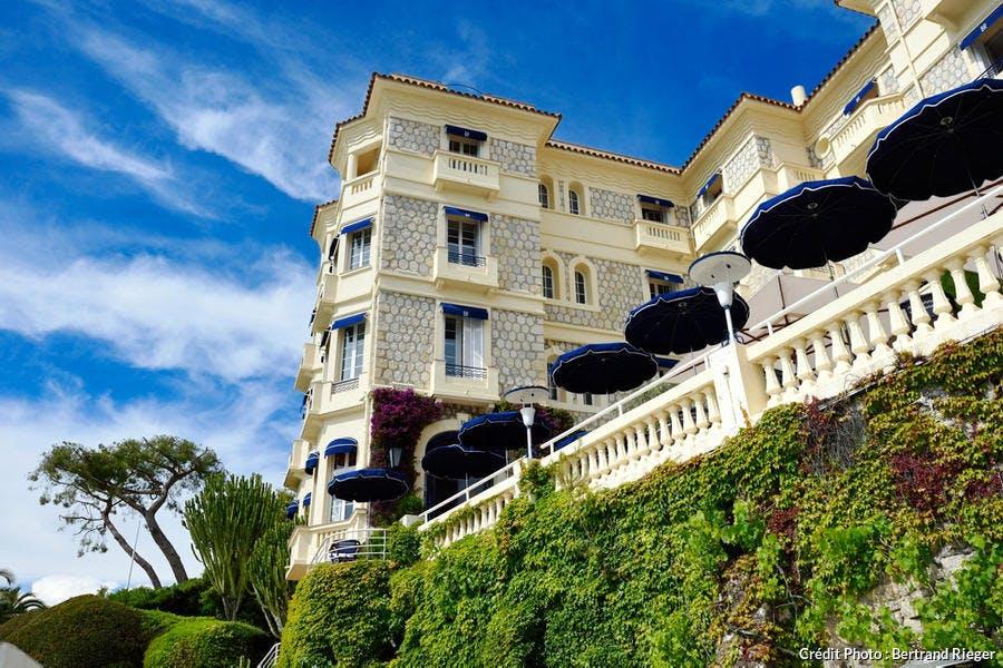 Antibes, Juan-les-Pins, hôtel Belle Rives (Côte d'Azur)