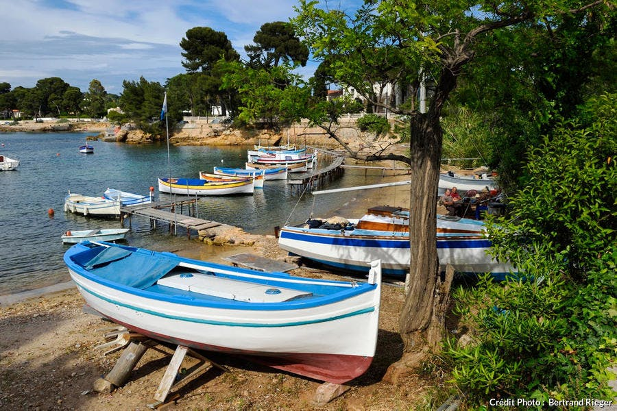 Le port de l'Olivette, cap d'Antibes (Côte d'Azur)