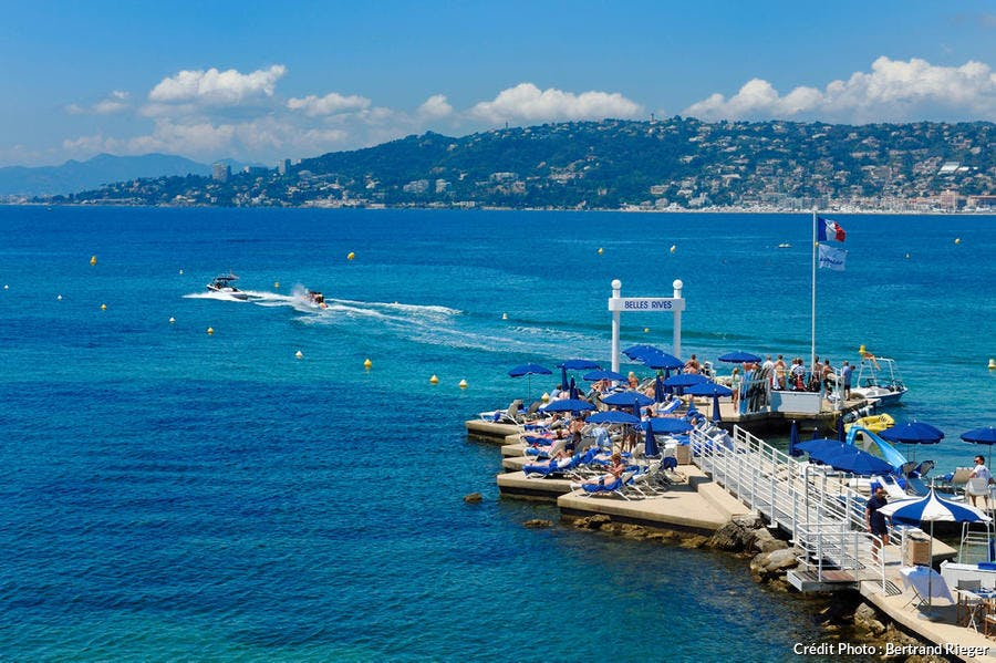 Hôtel Belles Rives, Juan-les-Pins (Côte d'Azur)