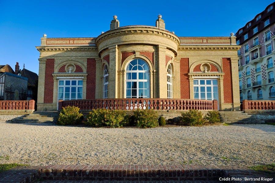 La villa Le Cercle de Deauville (Normandie)