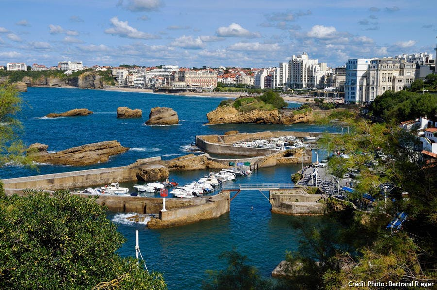 Le port des pêcheurs de Biarritz, au Pays Basque