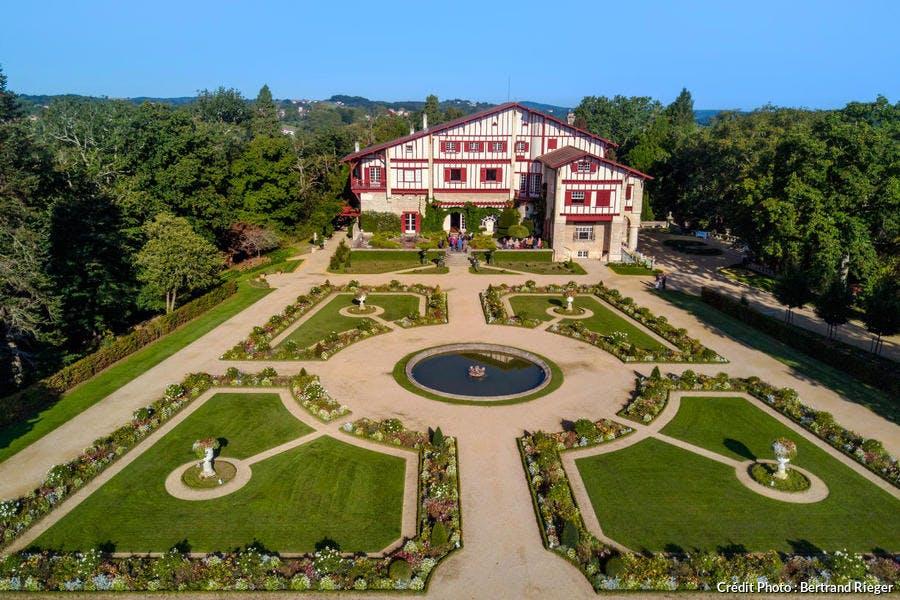 La Villa Arnaga d'Edmond Rostand, à Cambo-les-Bains, au Pays Basque