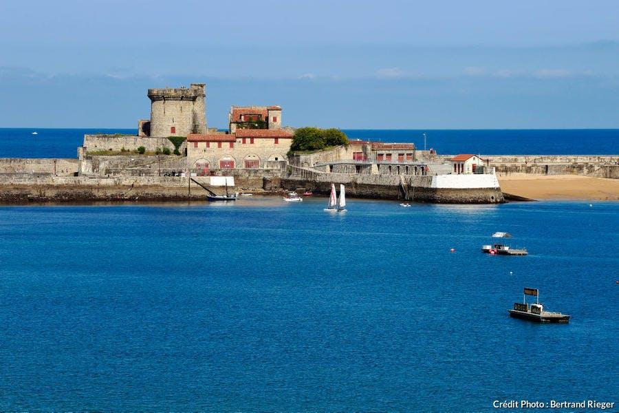 Le fort de Socoa, à Ciboure, au Pays Basque