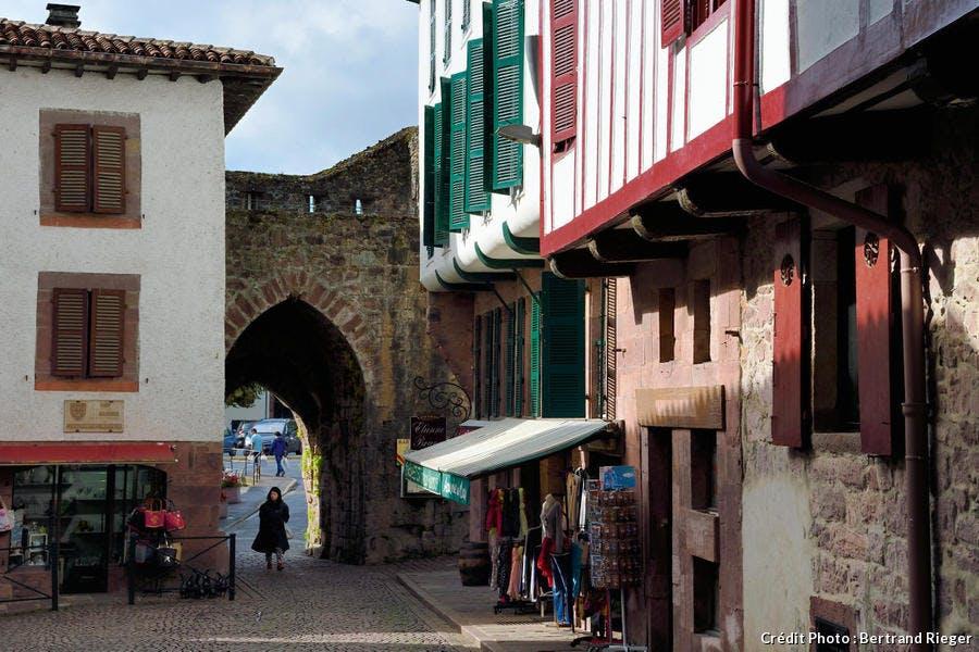 Saint-Jean-Pied-de-Port, la Porte de Navarre (Pays Basque)