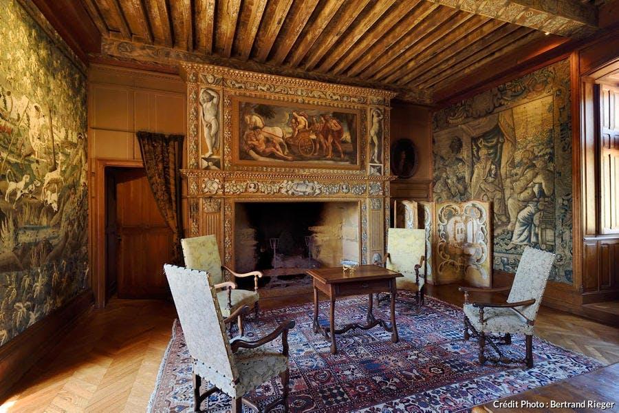 La Grande Salle du château de Puymartin (Périgord)