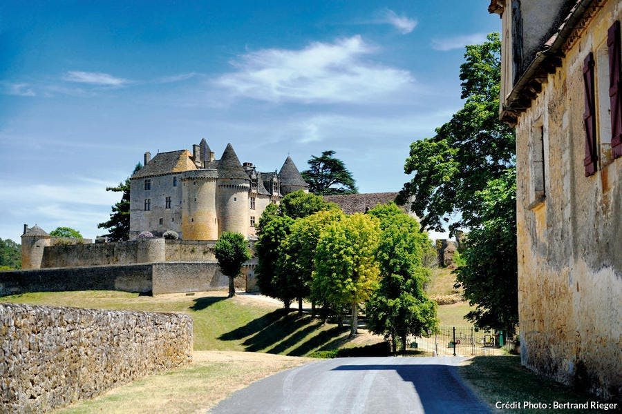 Le château de Fénelon, dans le Périgord noir