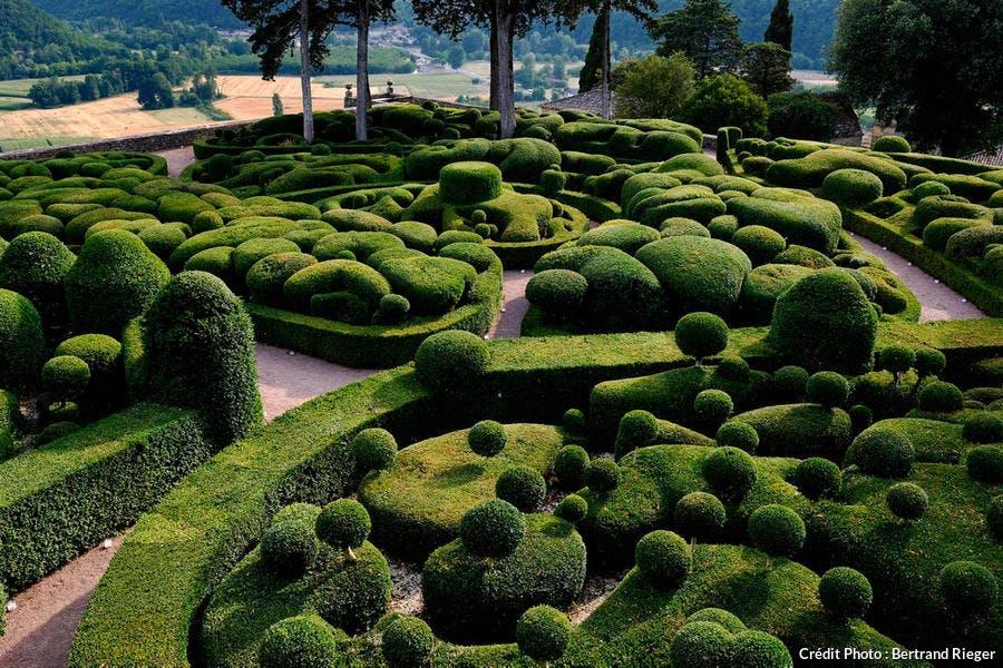 Les jardins suspendus de Marqueyssac, dans le Périgord