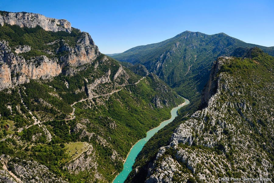 Le grand canyon des gorges du Verdon