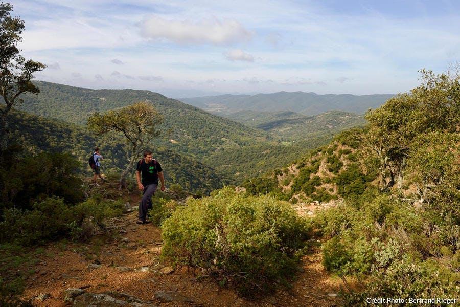 Le gouffre du Destéou dans le massif des Maures