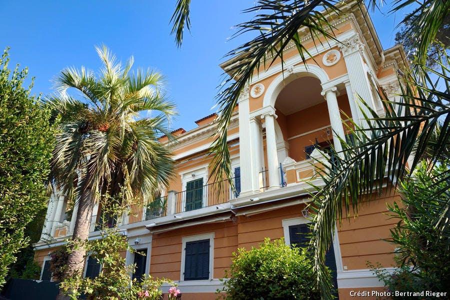 La villa Pierre-Aublé à Saint-Raphaël