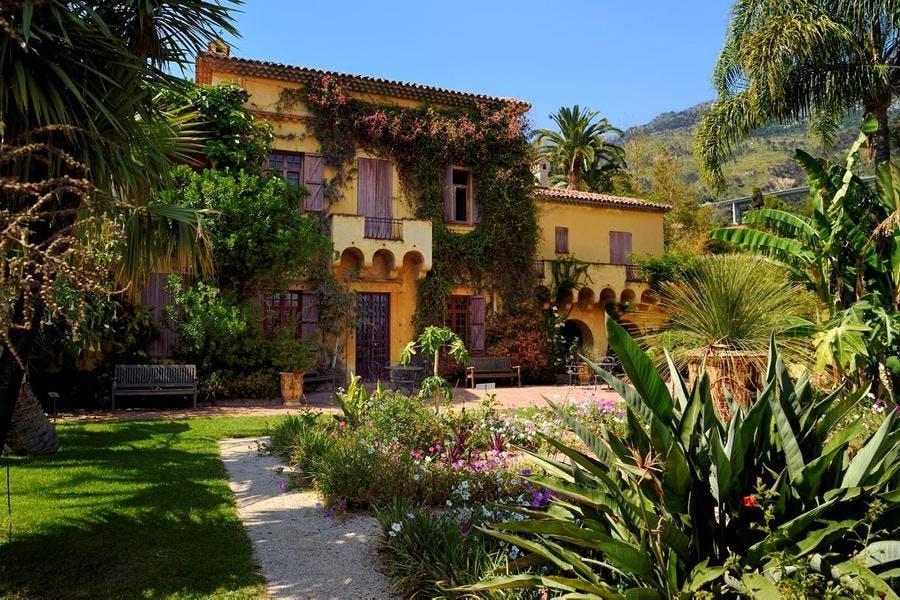 Jardin privé Les Colombières à Menton
