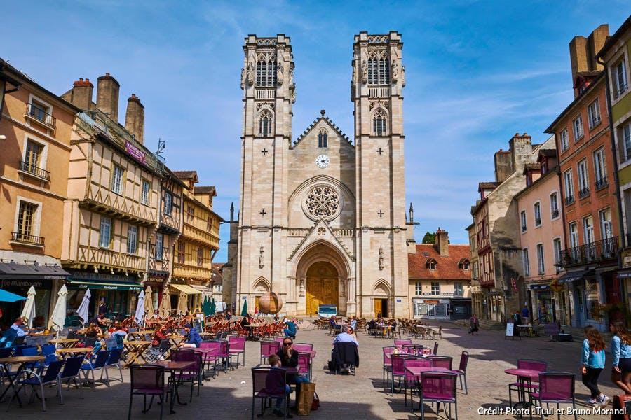 Cathédrale Saint-Vincent à Chalon-sur-Saône
