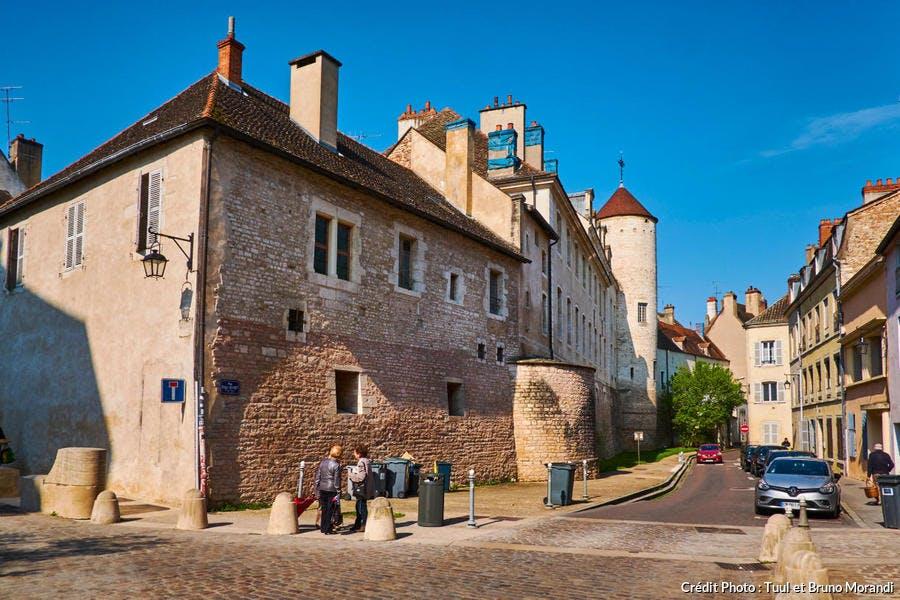 L'ancien palais épiscopal, à Chalon-sur-Saône