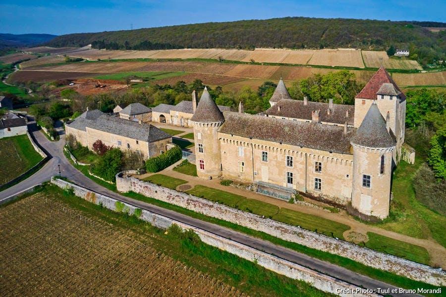 Le château de Rully, en Saône-et-Loire