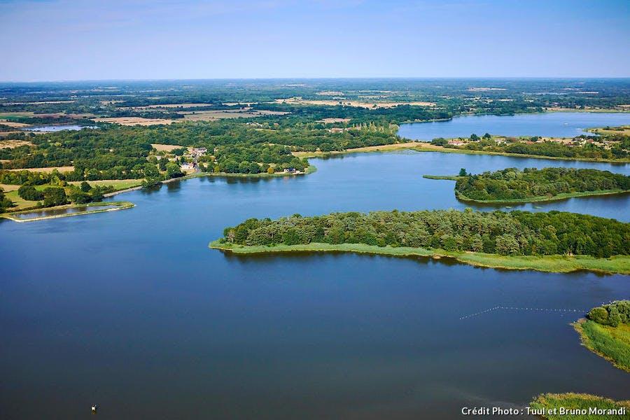 Les étangs de la Brenne, dans le Berry