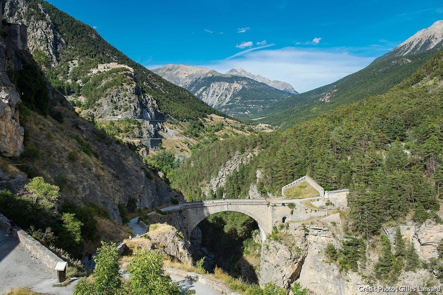 Le pont d'Asfeld construit par Vauban à Briançon