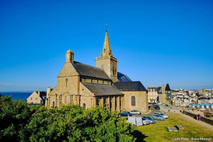 l'église Notre-Dame-du-Cap-Lihou à Granville