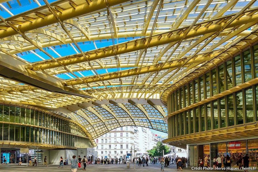 La Canopée du Forum des Halles, à Paris