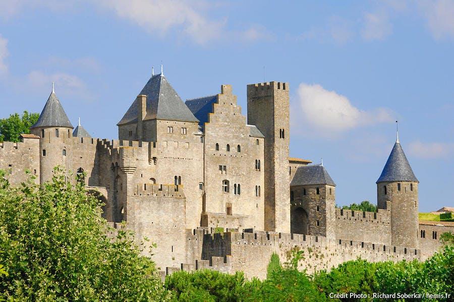 Carcassonne, cité médiévale classée Patrimoine Mondial de l'UNESCO