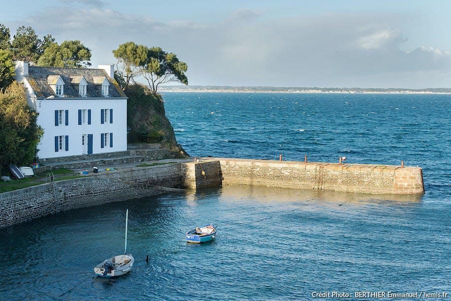 Port-Lay, à Groix (Bretagne)
