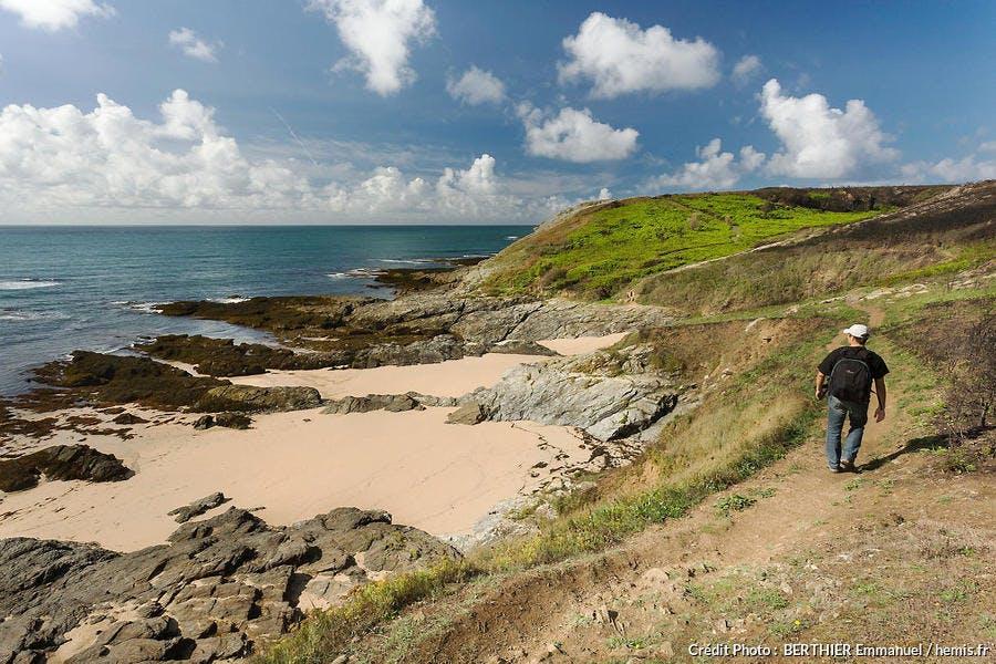 Littoral ouest de l'île de Groix, en Bretagne